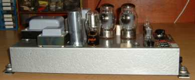 Black 122 Leslie, restored amplifier