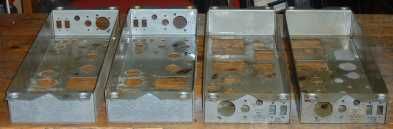 Stripped Leslie amplifier chassis, before refinishing
