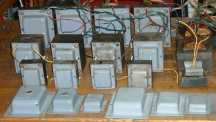 Leslie amplifier transformers & chokes. During dismantling etc. for ovehaul